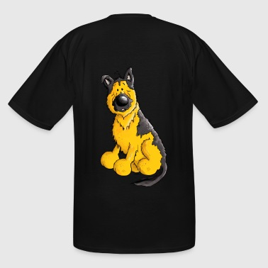German Shepherd Dog - Breed - Dogs - Men's Tall T-Shirt