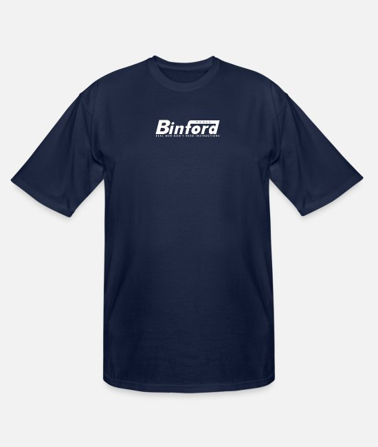 Improvement T-Shirts - Binford Tools T Shirt Funny Home Improvement Tool - Men's Tall T-Shirt navy