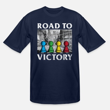 Yellow Board games Road to Victory - Men's Tall T-Shirt