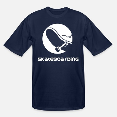 Skateboard skateboarding - Men's Tall T-Shirt