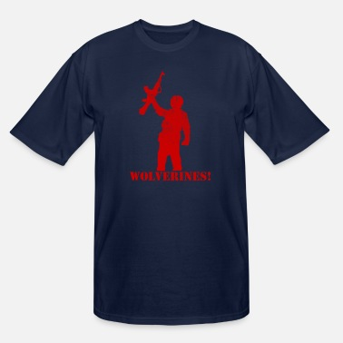 Wolverines Wolverines - Men's Tall T-Shirt