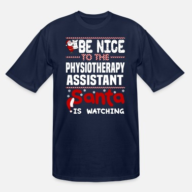 Physiotherapy Assistant Funny Physiotherapy Assistant - Men's Tall T-Shirt