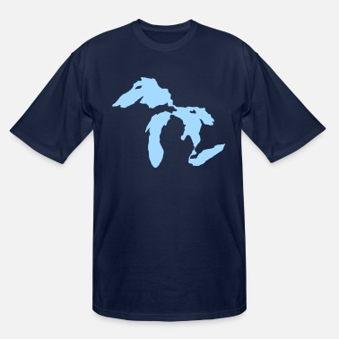 Michigan Michigan - Men's Tall T-Shirt