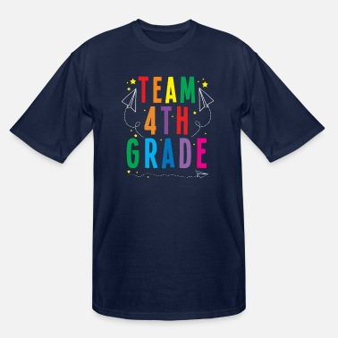 Grade Fourth Grade - Men's Tall T-Shirt