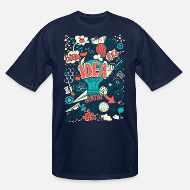 Idea idea - Men's Tall T-Shirt