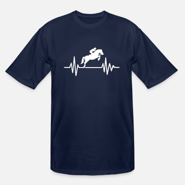 Show Jumping Show jumping - Men's Tall T-Shirt