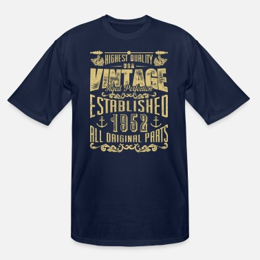 Established Established in 1952! - Men's Tall T-Shirt