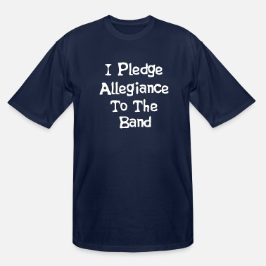 School I Pledge Allegiance To The Band - School Of Rock - Men's Tall T-Shirt