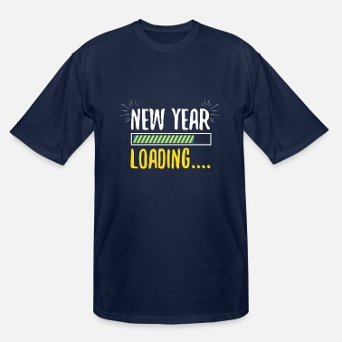 Eve Happy New Year 2020 Loading Fireworks Gift - Men's Tall T-Shirt
