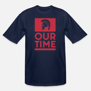 Greece Spartans OUR TIME - Men's Tall T-Shirt