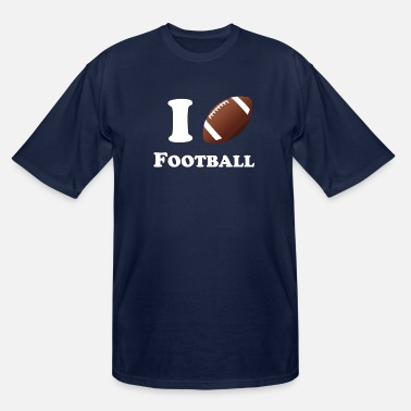 I Heart Football I Heart Football - Men's Tall T-Shirt