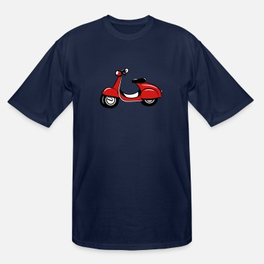 Scooter Scooter riding Scooter - Men's Tall T-Shirt