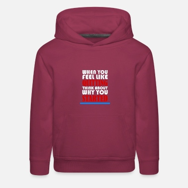Motivational MOTIVATION MOTIVATION MOTIVATION - Kids' Premium Hoodie