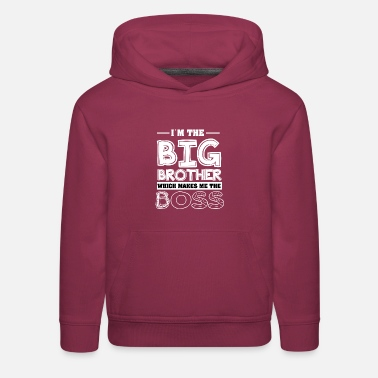 Big Brother Brother Shirt-Big brother - Kids' Premium Hoodie