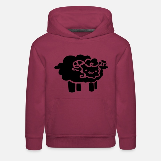 Aries Hoodies & Sweatshirts - Aries - Kids' Premium Hoodie burgundy