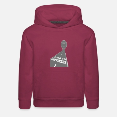 Road to happiness - Kids' Premium Hoodie
