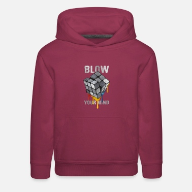 Rubik's Cube Blow Your Mind - Kids' Premium Hoodie