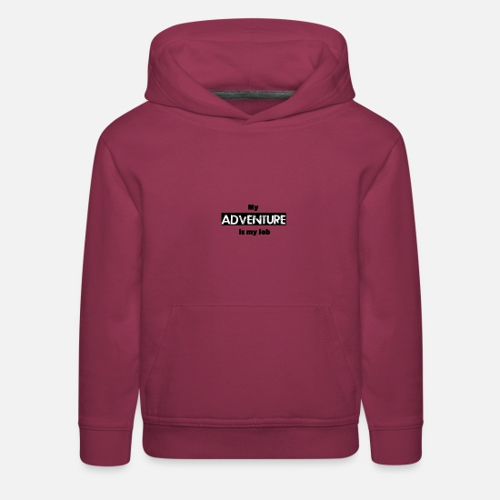 Adventure Hoodies & Sweatshirts - Adventure Adventure - Kids' Premium Hoodie burgundy