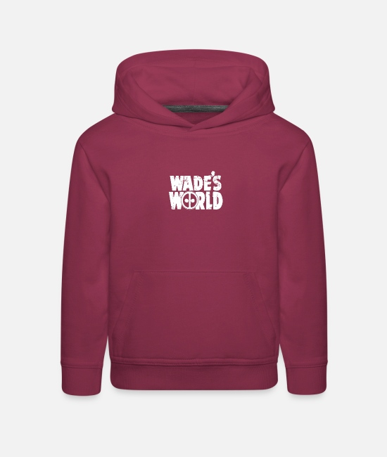 Movie Hoodies & Sweatshirts - WADE S WORLD - Kids' Premium Hoodie burgundy