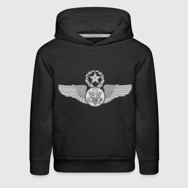 MASTER ENLISTED WINGS - Kids' Premium Hoodie