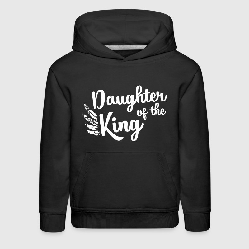 Daughter of the King - Kids' Premium Hoodie