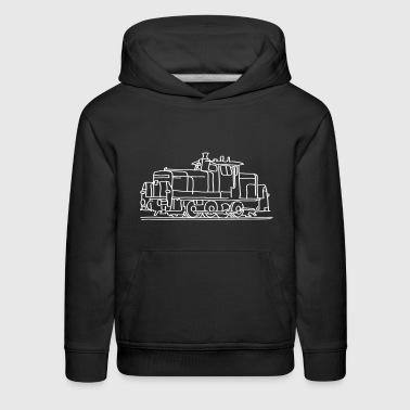 Locomotive Diesel locomotive - Kids' Premium Hoodie