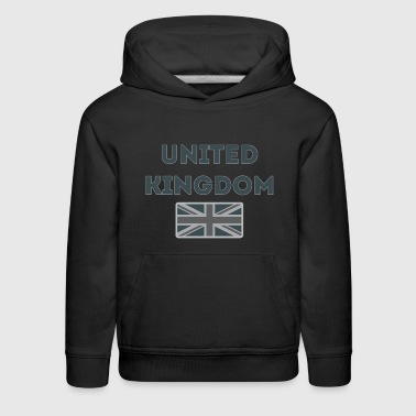 UK Tactical Flag Line - Kids' Premium Hoodie