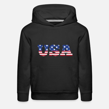 Stars And Stripes USA - Stars & Stripes - Kids' Premium Hoodie