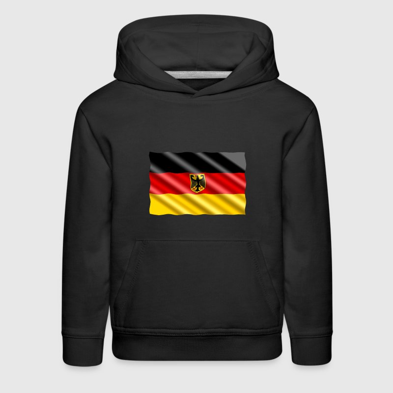 German Eagle Flag - Kids' Premium Hoodie