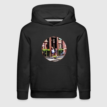 Little Italy Boston MA - Cafe in Little Italy - Kids' Premium Hoodie