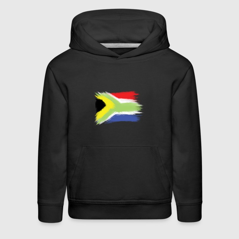 South Africa flag cape to - Kids' Premium Hoodie