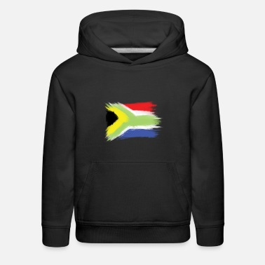 Cape Town South Africa flag cape to - Kids' Premium Hoodie