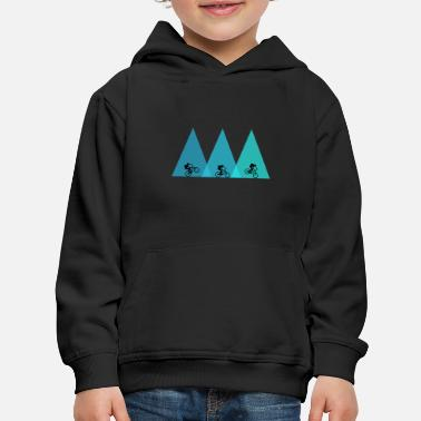 mountain bike bicycle mtb - Kids' Premium Hoodie
