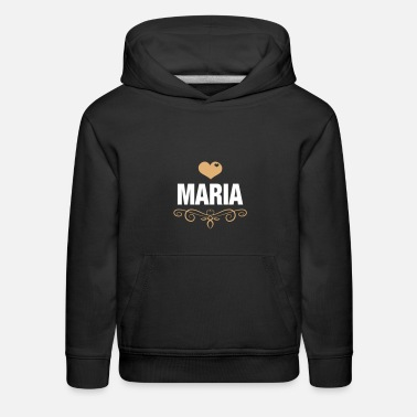 Maria Maria, Love, Hearts, Birthday, Presents - Kids' Premium Hoodie