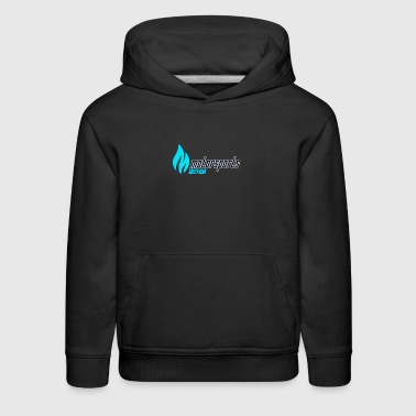 MotorSports Safety Gear Apparel Logo Teal - Kids' Premium Hoodie