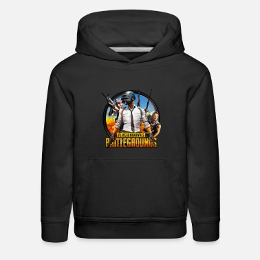 Playerunknown Playerunknowns battlegrounds t-shirts and clothing - Kids' Premium Hoodie