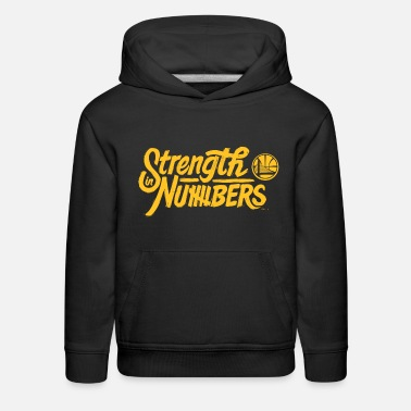 Golden State strength in numbers golden states - Kids' Premium Hoodie