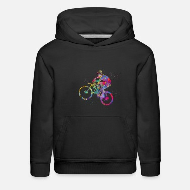 Mountain Bike Mountain Bike - Kids' Premium Hoodie