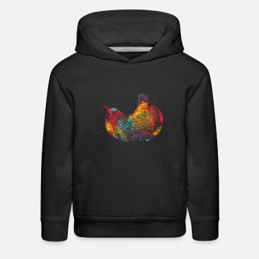 Stomach The Stomach - Kids' Premium Hoodie