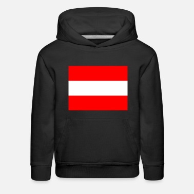 Schland National flag of Austria - Kids' Premium Hoodie