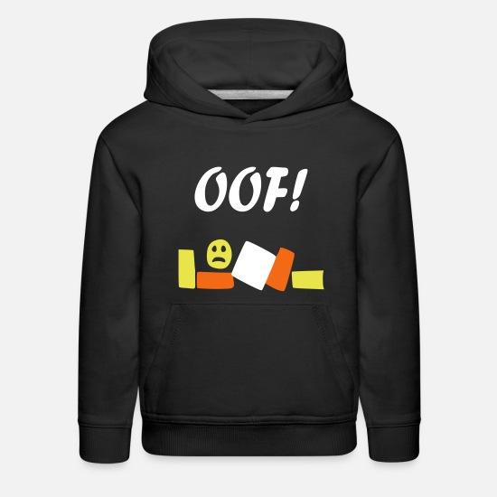 Roblox Oof Kids Premium Hoodie Spreadshirt -