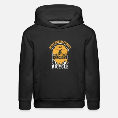 Still Riding Strong Never Underestimate A Bicycle - Kids' Premium Hoodie