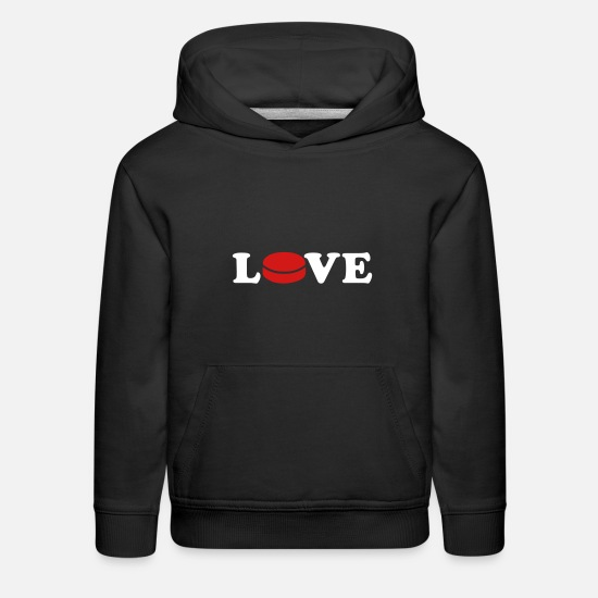 Puck Hoodies & Sweatshirts - Hockey - Kids' Premium Hoodie black