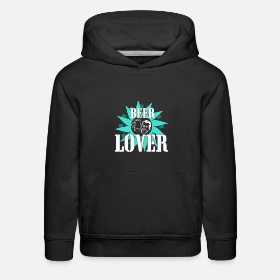 Gift Idea Hoodies & Sweatshirts - Beer Lover for Oktoberfest - Kids' Premium Hoodie black