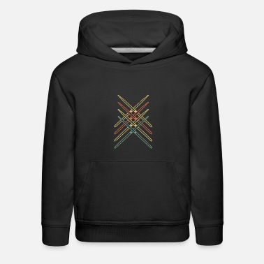 Drumsticks Retro Drumsticks Drums for Christmas - Kids' Premium Hoodie