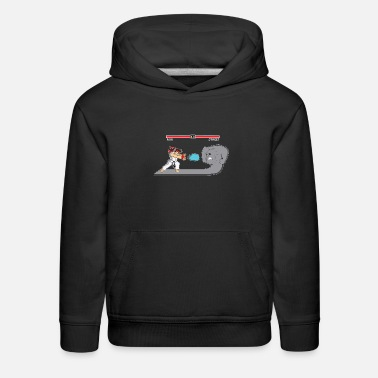 Fighter Fighter Of Streets - Kids' Premium Hoodie