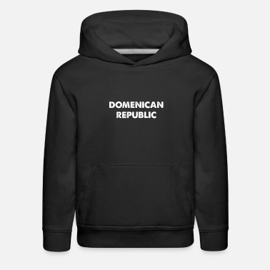 Home Country DOMENICAN REPUBLIC home country traveling - Kids' Premium Hoodie