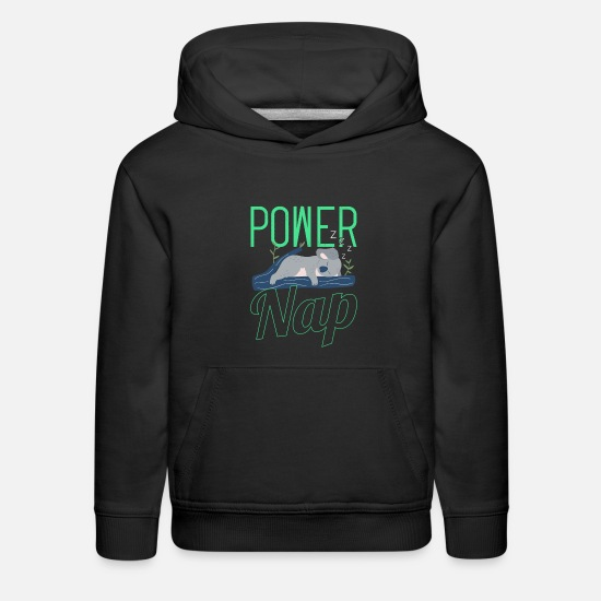 Koala Hoodies & Sweatshirts - Power Nap Koala Mode Funny Gift - Kids' Premium Hoodie black