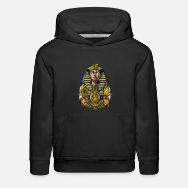 Ancient Tutankhamun Egyptian Pharaoh Tut King - Kids' Premium Hoodie