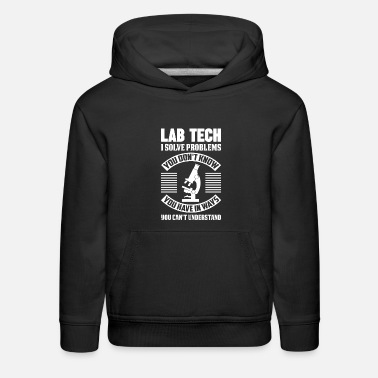 Technician Lab Week Medical Laboratory Technician Fun - Kids' Premium Hoodie